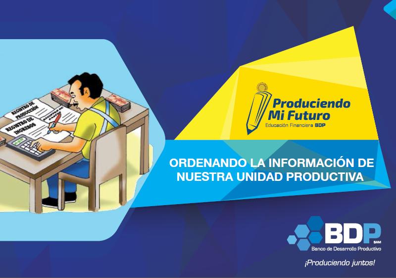 información de unidad productiva