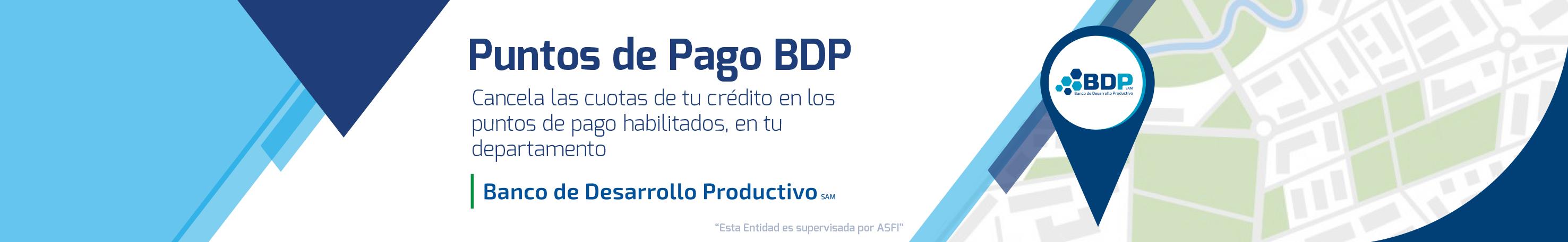 puntos de pago BDP