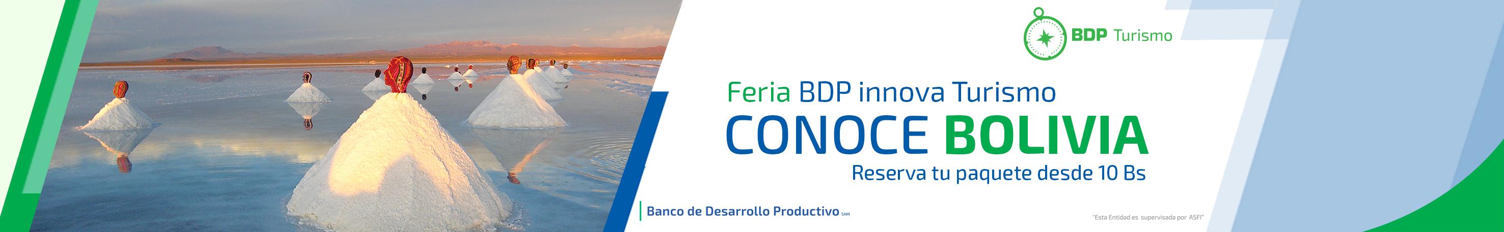 BDP innova turismo