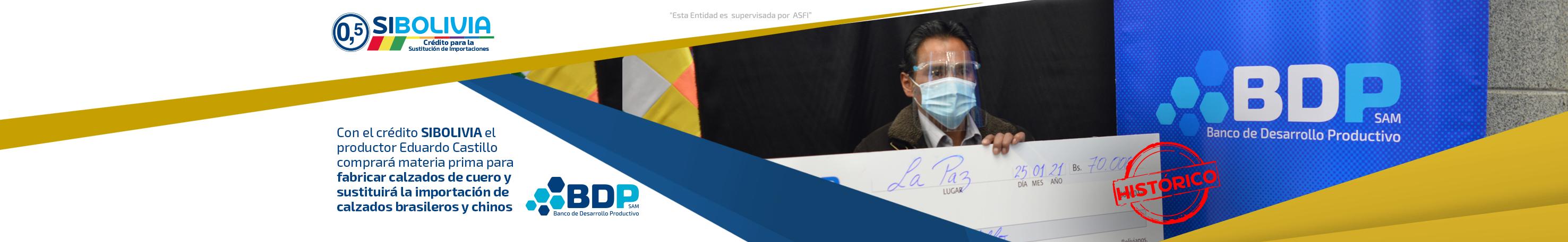 Banner beneficiario SIBOLIVIA