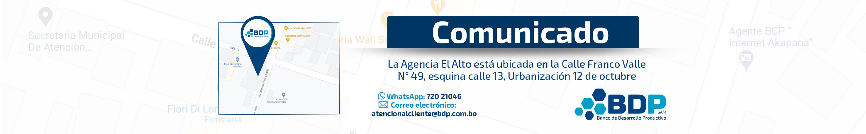 Agencia El Alto